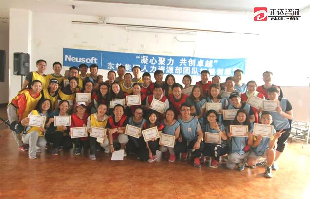 东软集团---人力资源部团队拓展训练圆满结束!